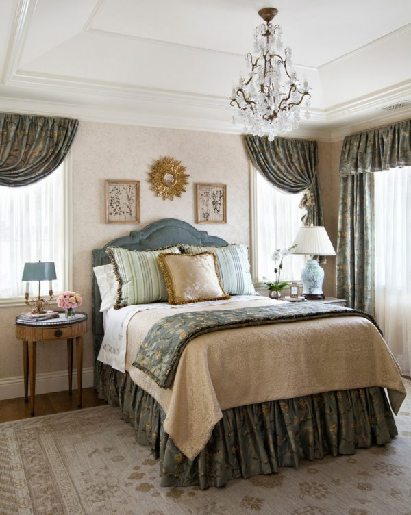 bedroom decorating ideas and designs Remodels Photos Linda L. Floyd, Inc., Interior Design Carmel California United States traditional-bedroom-001
