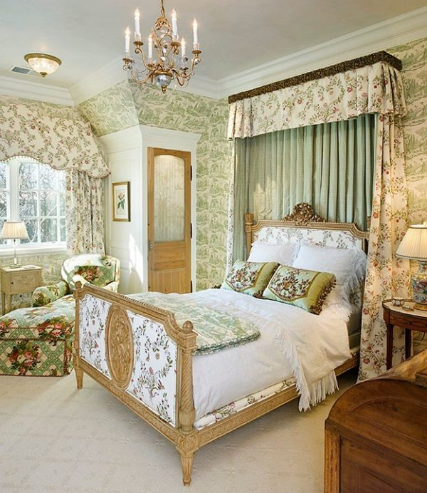 bedroom decorating ideas and designs Remodels Photos Linda L. Floyd, Inc., Interior Design Carmel California United States traditional-bedroom-002