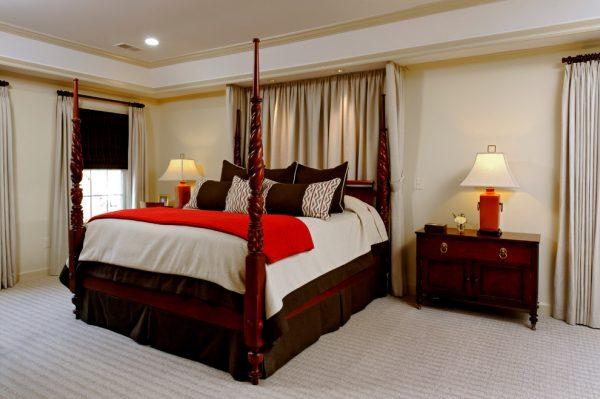 bedroom decorating ideas and designs Remodels Photos Meg Poff Design LLC Burke Virginia United States traditional-bedroom