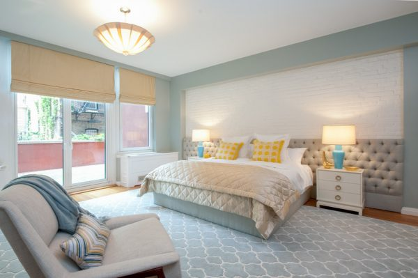bedroom decorating ideas and designs Remodels Photos Michele Bitter Designs New York New York United States transitional-bedroom-001