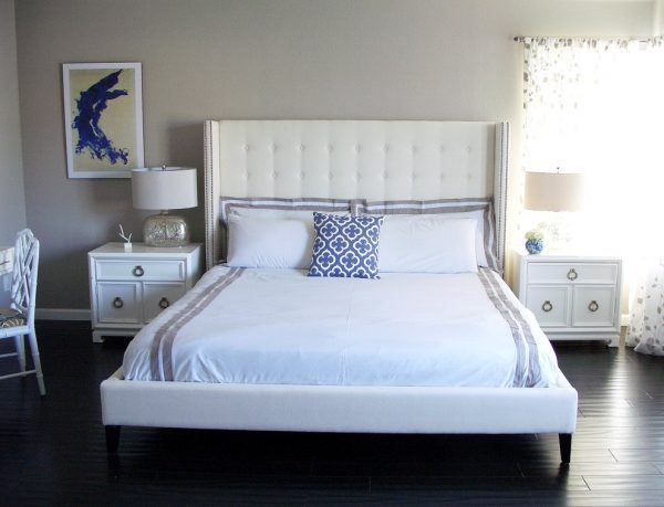 bedroom decorating ideas and designs Remodels Photos Nina Jizhar Danville California United States transitional-bedroom