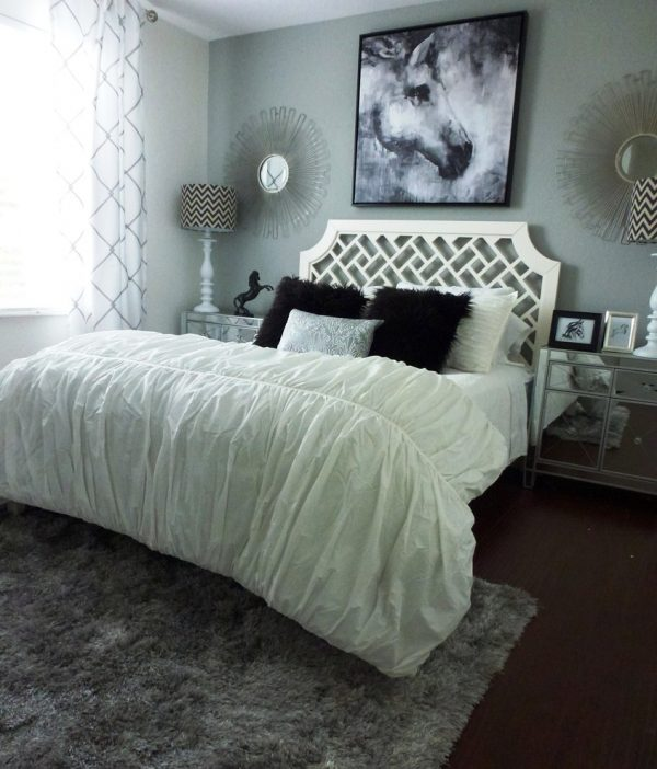 bedroom decorating ideas and designs Remodels Photos Nina Williams Interiors Wellington Florida United States contemporary-bedroom