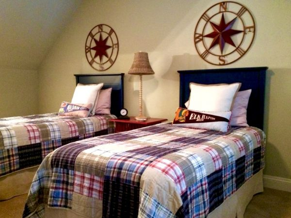 bedroom decorating ideas and designs Remodels Photos P H Designs Indianapolis Indiana United States farmhouse-bedroom