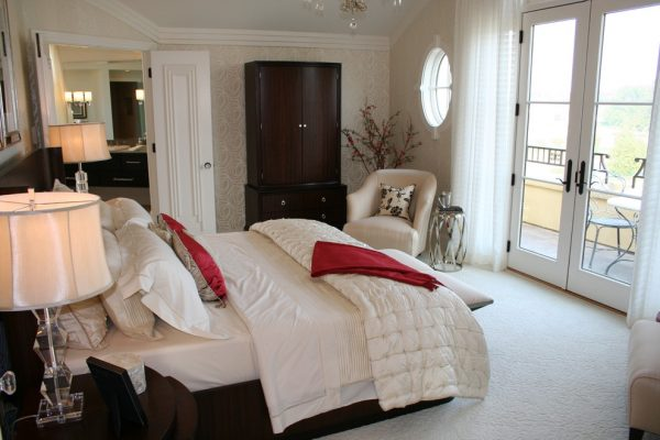 bedroom decorating ideas and designs Remodels Photos P H Designs Indianapolis Indiana United States transitional-bedroom