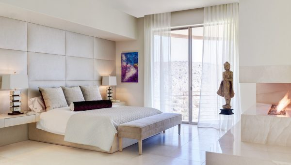 bedroom decorating ideas and designs Remodels Photos Palm Design Group Phoenix Arizona United States contemporary-bedroom