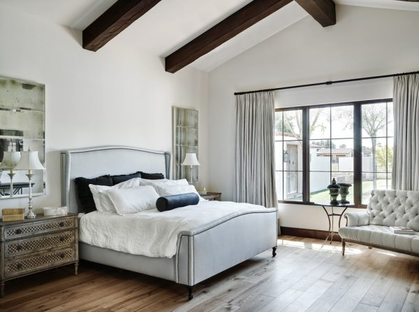bedroom decorating ideas and designs Remodels Photos Palm Design Group Phoenix Arizona United States mediterranean-bedroom-003