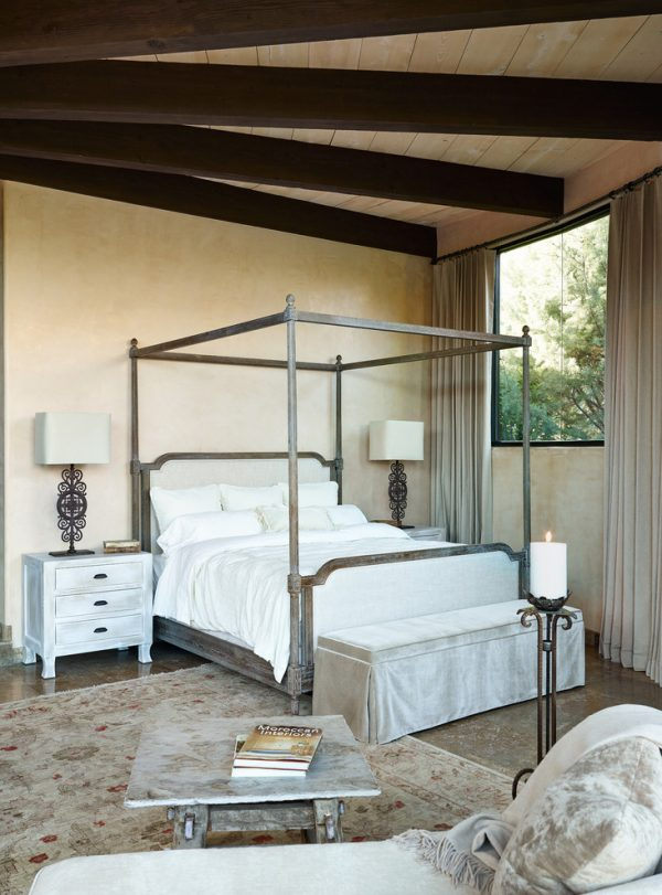 bedroom decorating ideas and designs Remodels Photos Palm Design Group Phoenix Arizona United States mediterranean-bedroom