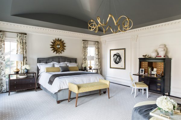 bedroom decorating ideas and designs Remodels Photos Roxanne Lumme Interiors, LLC McLean Virginia United States traditional-bedroom-001