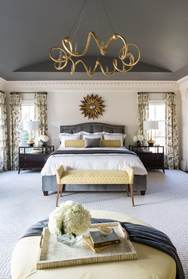 bedroom decorating ideas and designs Remodels Photos Roxanne Lumme Interiors, LLC McLean Virginia United States traditional-bedroom-002