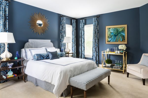 bedroom decorating ideas and designs Remodels Photos Roxanne Lumme Interiors, LLC McLean Virginia United States transitional-bedroom