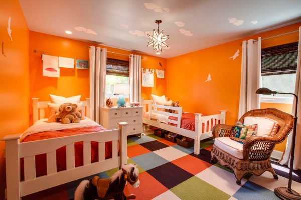bedroom decorating ideas and designs Remodels Photos Studio Blu Los AngelesCalifornia United States contemporary-kids
