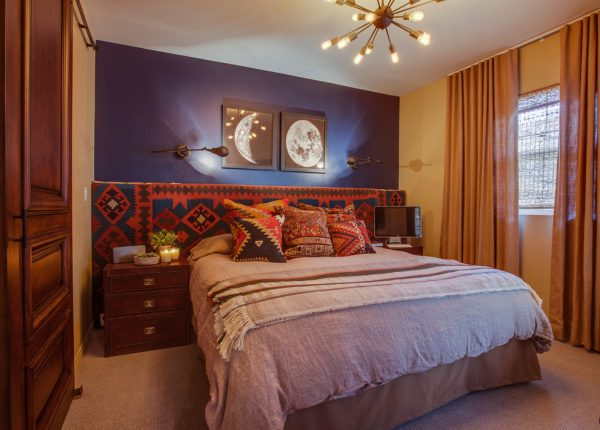 bedroom decorating ideas and designs Remodels Photos Studio Blu Los AngelesCalifornia United States eclectic-bedroom