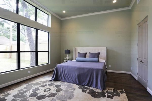 bedroom decorating ideas and designs Remodels Photos The Luxe Designer Houston Texas United States modern