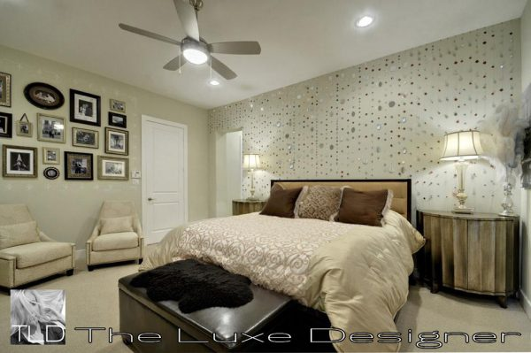 bedroom decorating ideas and designs Remodels Photos The Luxe Designer Houston Texas United States traditional-bedroom-001