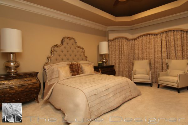 bedroom decorating ideas and designs Remodels Photos The Luxe Designer Houston Texas United States traditional-bedroom-006