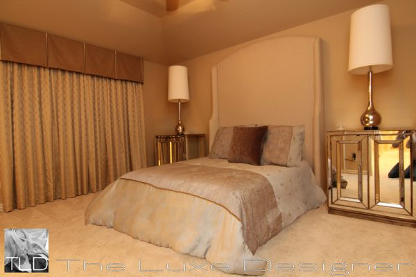 bedroom decorating ideas and designs Remodels Photos The Luxe Designer Houston Texas United States traditional-bedroom