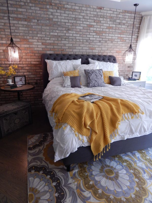 bedroom decorating ideas and designs Remodels Photos VIP Interior Design Raleigh North Carolina United States industrial-bedroom