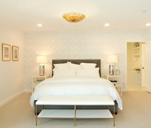 bedroom decorating ideas and designs Remodels Photos Alison Designs Redondo Beach California United States traditional-bedroom