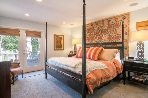 bedroom decorating ideas and designs Remodels Photos Anthology Interiors Newport Beach California United States eclectic-bedroom