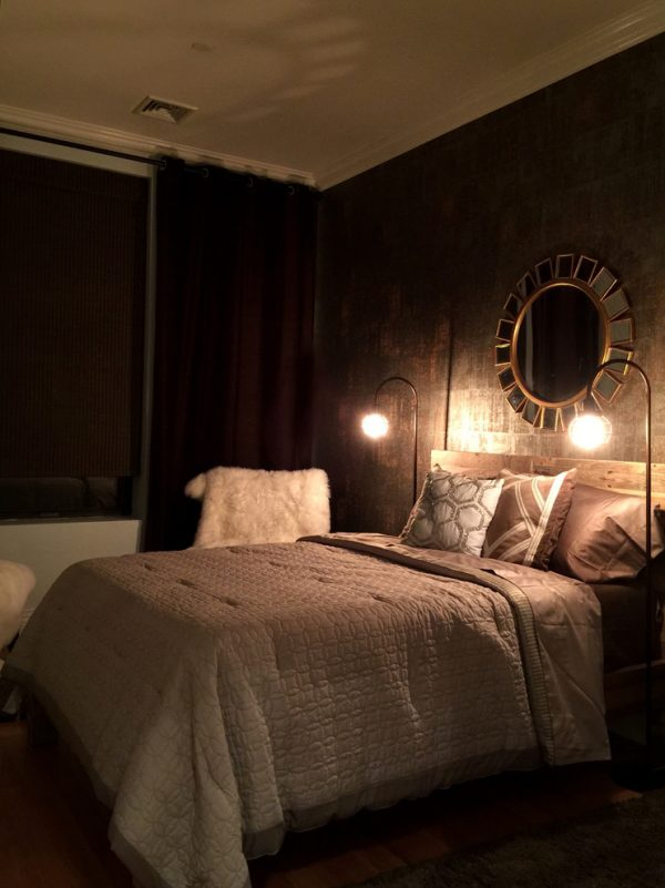 bedroom decorating ideas and designs Remodels Photos Art Home Garden Brooklyn New York United States contemporary-bedroom-001