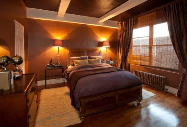 bedroom decorating ideas and designs Remodels Photos Art Home Garden Brooklyn New York United States traditional-bedroom