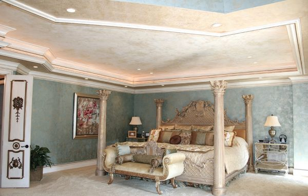 bedroom decorating ideas and designs Remodels Photos Art by Veni Charlotte North Carolina United States transitional-bedroom