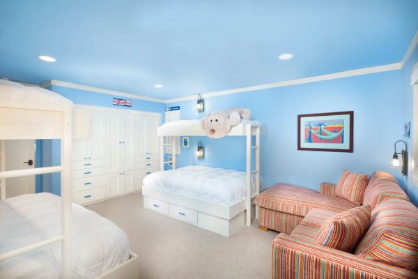 bedroom decorating ideas and designs Remodels Photos Aspen Leaf Interiors, LLC Truckee California United States transitional-kids
