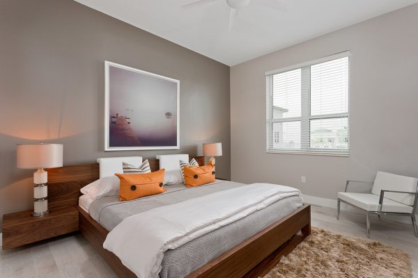 bedroom decorating ideas and designs Remodels Photos B Pascuali Interiors, LLC Boca Raton Florida United States contemporary-bedroom