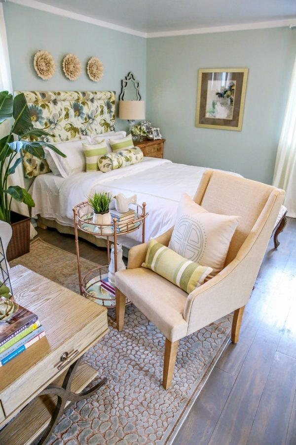 bedroom decorating ideas and designs Remodels Photos Casa Vilora Interiors Katy Texas United States shabby-chic-style-1