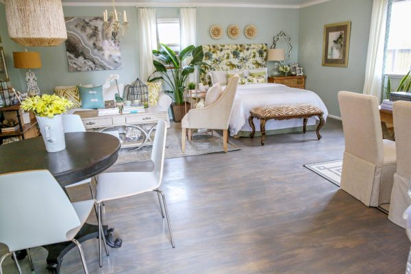 bedroom decorating ideas and designs Remodels Photos Casa Vilora Interiors Katy Texas United States shabby-chic-style-2