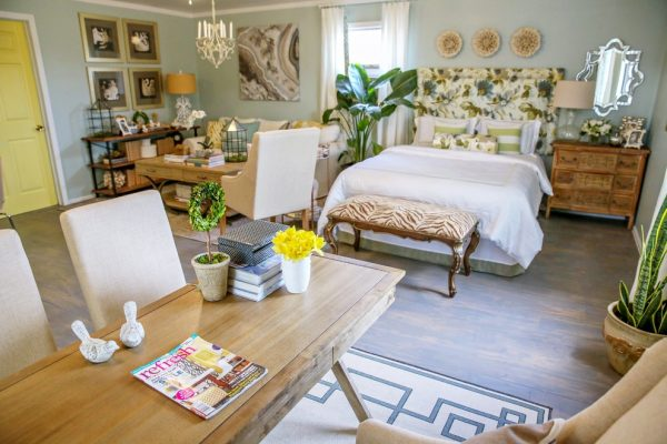 bedroom decorating ideas and designs Remodels Photos Casa Vilora Interiors Katy Texas United States shabby-chic-style