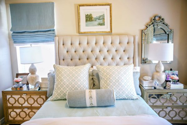 bedroom decorating ideas and designs Remodels Photos Casa Vilora Interiors Katy Texas United States transitional-2