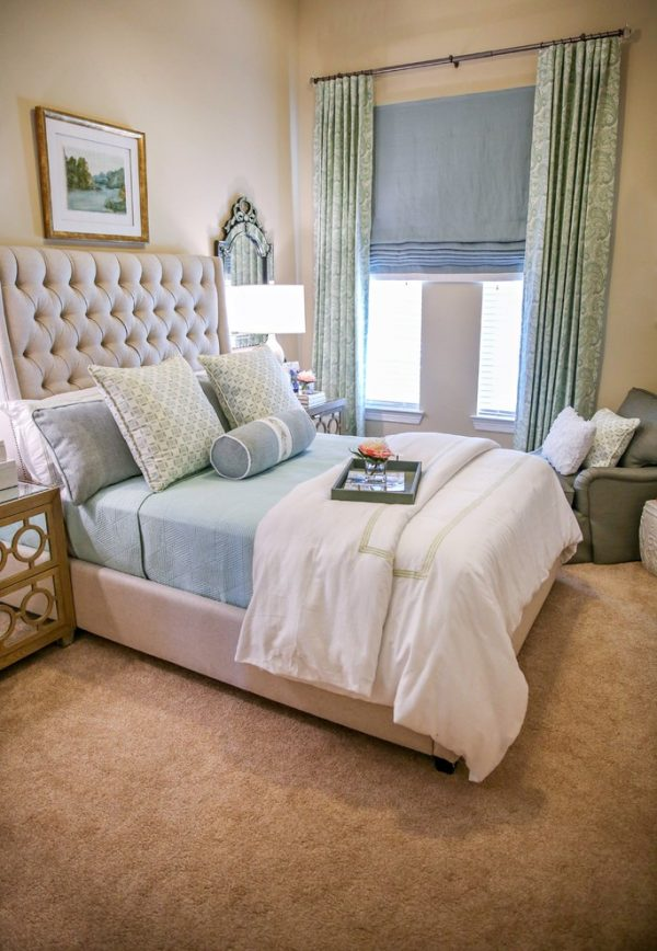 bedroom decorating ideas and designs Remodels Photos Casa Vilora Interiors Katy Texas United States transitional-3