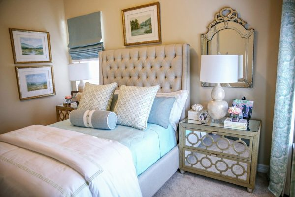 bedroom decorating ideas and designs Remodels Photos Casa Vilora Interiors Katy Texas United States transitional