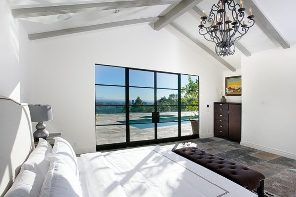 bedroom decorating ideas and designs Remodels Photos Christopher Lee Home San Diego California United States contemporary-bedroom-001