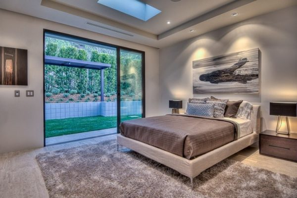 bedroom decorating ideas and designs Remodels Photos Christopher Lee Home San Diego California United States modern-bedroom