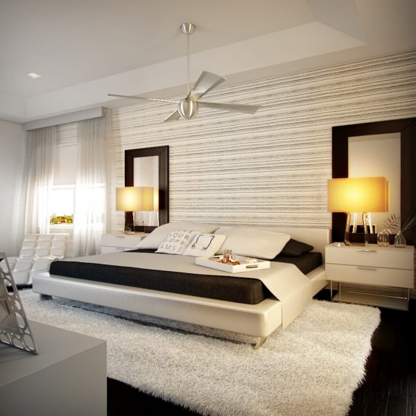 bedroom decorating ideas and designs Remodels Photos Concepto MV Inc Miami Florida United States contemporary-bedroom-002