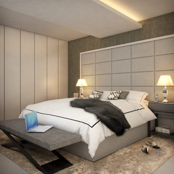 bedroom decorating ideas and designs Remodels Photos Concepto MV Inc Miami Florida United States contemporary-bedroom-003