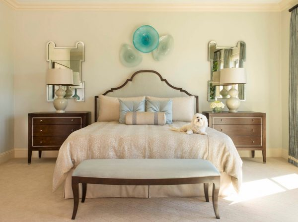 bedroom decorating ideas and designs Remodels Photos Dallas Design Group, Interiors Dallas Texas United States transitional-bedroom-001