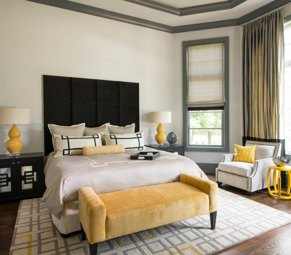bedroom decorating ideas and designs Remodels Photos Dallas Design Group, Interiors Dallas Texas United States transitional-bedroom-003