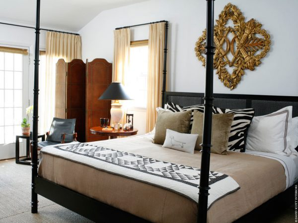 bedroom decorating ideas and designs Remodels Photos David Scott Interiors New York New York United States eclectic-bedroom