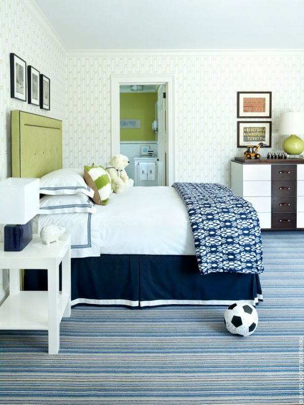 bedroom decorating ideas and designs Remodels Photos David Scott Interiors New York New York United States traditional-kids