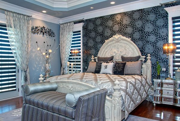 bedroom decorating ideas and designs Remodels Photos DecoratingDens Interiors St John Indiana United States traditional-bedroom-002