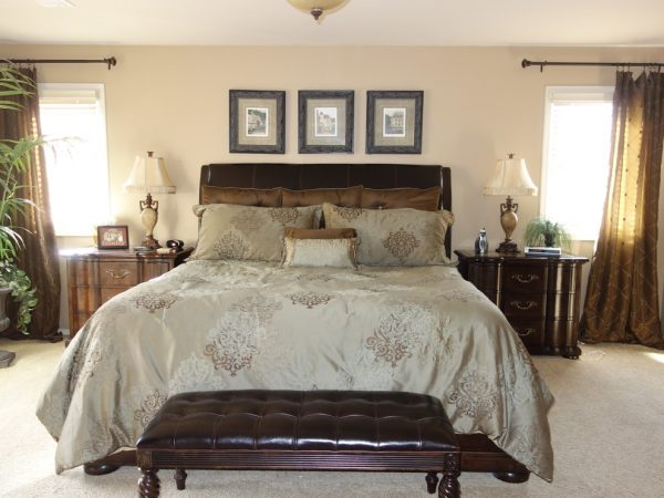 bedroom decorating ideas and designs Remodels Photos Decorative Designs Lone Tree Colorado United States transitional-002