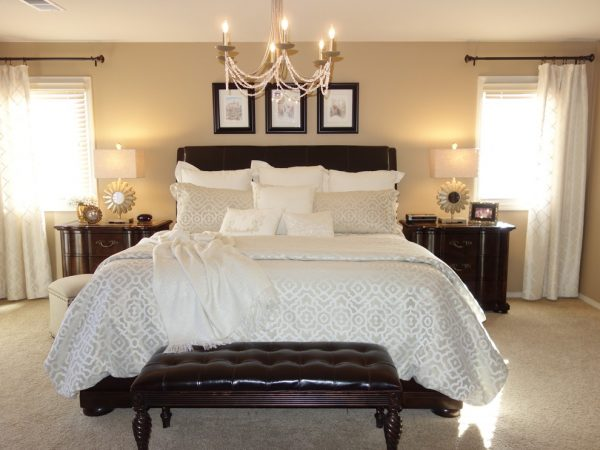 bedroom decorating ideas and designs Remodels Photos Decorative Designs Lone Tree Colorado United States transitional-003