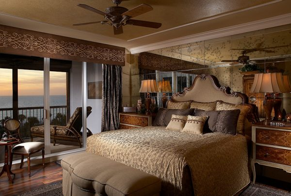 bedroom decorating ideas and designs Remodels Photos Designs Unlimited Naples Florida United States mediterranean-bedroom-001