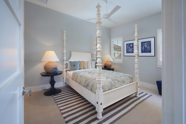 bedroom decorating ideas and designs Remodels Photos Donna Wargo for Ethan Allen Orlando Orlando Florida United States beach-style