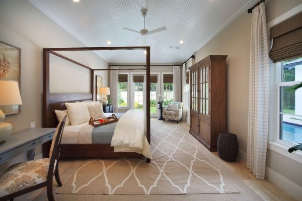 bedroom decorating ideas and designs Remodels Photos Donna Wargo for Ethan Allen Orlando Orlando Florida beach-style-bedroom