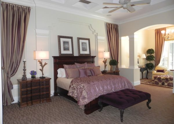 bedroom decorating ideas and designs Remodels Photos Donna Wargo for Ethan Allen Orlando Orlando Florida traditional-bedroom