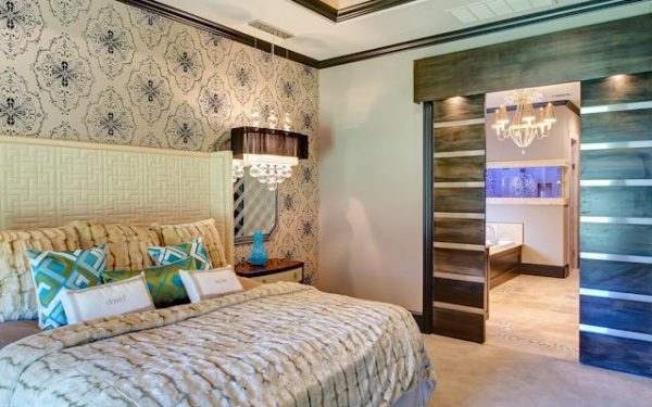 bedroom decorating ideas and designs Remodels Photos Elaine Williamson Designs Dallas Texas United States contemporary-bedroom-001